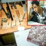 """An ninh Xã hội - """"Kho"""" vũ khí và ma túy trong nhà kẻ trốn nã"""