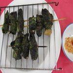 Ẩm thực - Nấm mối cuốn lá lốt nướng ngon đúng điệu