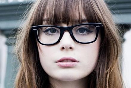 Tóc đẹp cho cô nàng kính cận - 1