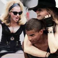Madonna nng bng bn phi cng tr