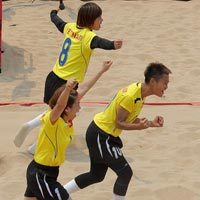 on Th thao Vit Nam tm xp th 10 trn 45 on tham d Beach Games 3  Haiyang Trung Quc