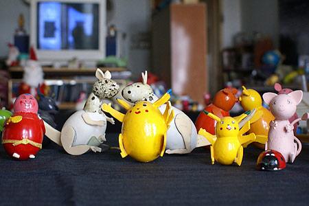 Người tạo hình bằng vỏ trứng nhiều nhất Việt Nam - 15