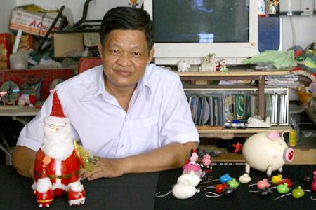 Người tạo hình bằng vỏ trứng nhiều nhất Việt Nam - 6