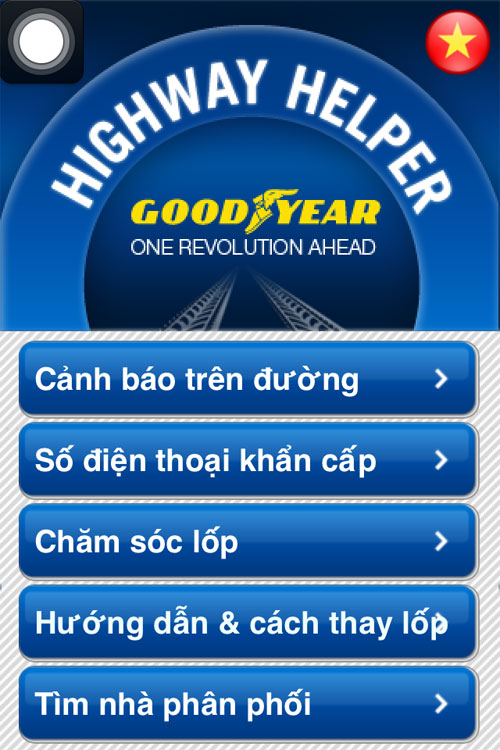 Goodyear Highway Helper  ng hnh trn nhng chng ng Vit,  t - Xe my, 