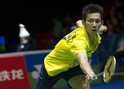 """Giải cầu lông Singapore mở rộng: Tiến Minh hạ """"đo ván"""" Ajay Jayaram - 1"""