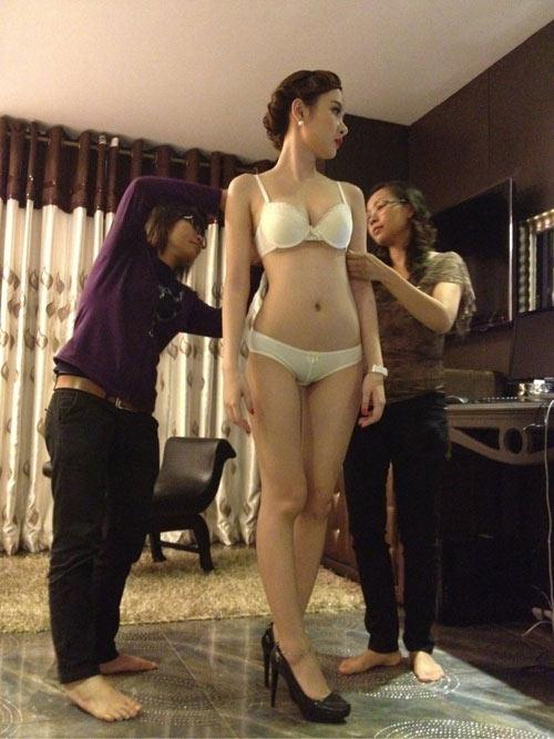Phương Trinh nhận chụp nội y vì cát-xê hậu hĩnh - 5