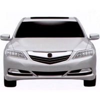 Acura RLX 2013: X sang l din
