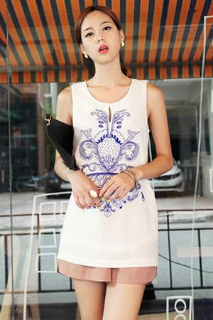 Mix đồ thông minh với váy áo họa tiết - 7