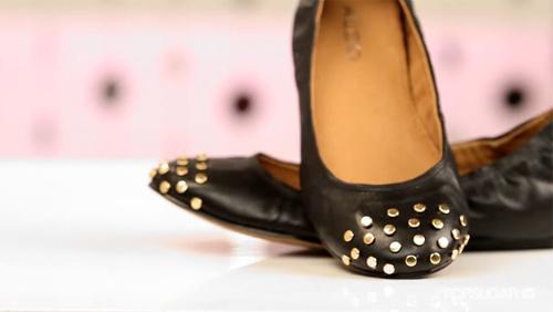 Thêm đinh tán cho giày búp bê - 1