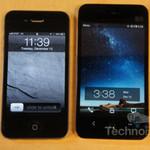 iPhone 4S và Meizu MX trổ tài mở bia
