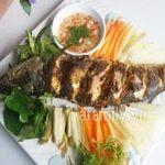 Ẩm thực - Cá nướng riềng sả - cả nhà khen ngon