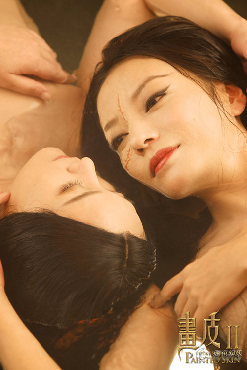 Triệu Vy, Châu Tấn quấn quít dưới nước - 8