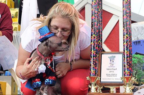 Tưng bừng cuộc thi chú chó xấu nhất thế giới - 1