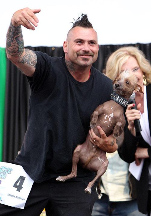 Tưng bừng cuộc thi chú chó xấu nhất thế giới - 8