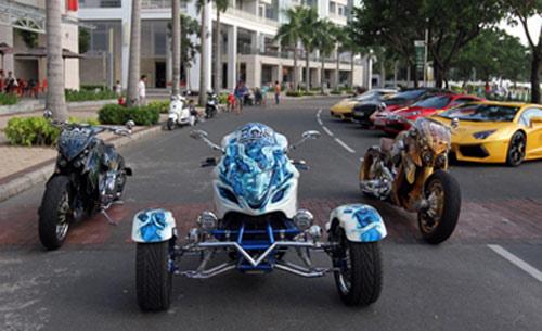 Hé lộ dàn mô tô 'khủng' hộ tống Car & Passion - 2