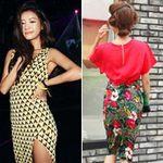 Thời trang - Mặc váy đẹp như cô gái Hàn