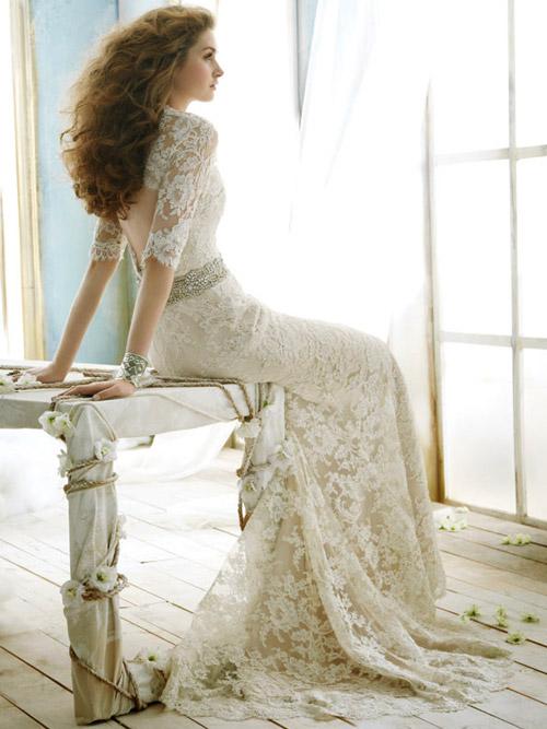 Váy cưới tôn đường cong cho nàng dâu - 3