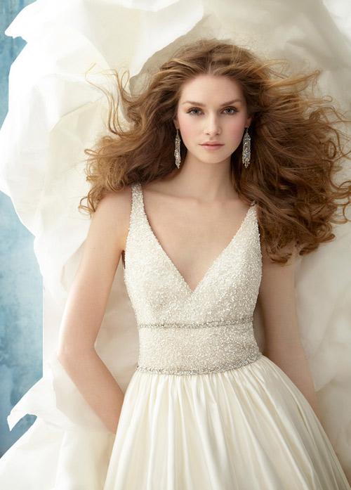 Váy cưới tôn đường cong cho nàng dâu - 8