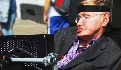 'Hack' não giáo sư Stephen Hawking - 1