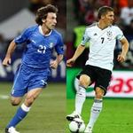 Bóng đá - Italia – Đức: Tuyến giữa so tài