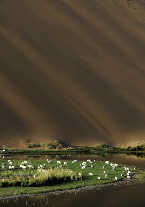 Vẻ đẹp bí ẩn của sa mạc Ba Đan Cát Lâm - 1