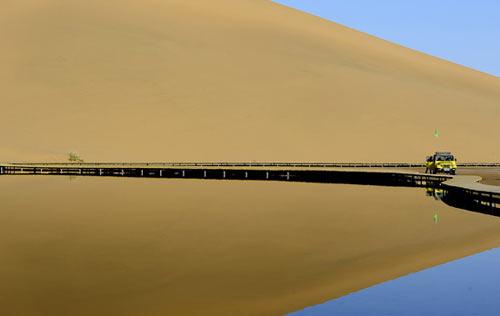 Vẻ đẹp bí ẩn của sa mạc Ba Đan Cát Lâm - 3