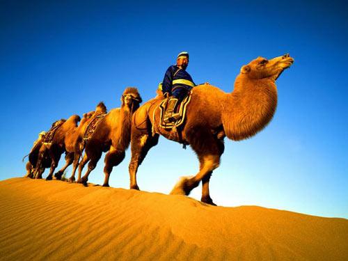 Vẻ đẹp bí ẩn của sa mạc Ba Đan Cát Lâm - 7