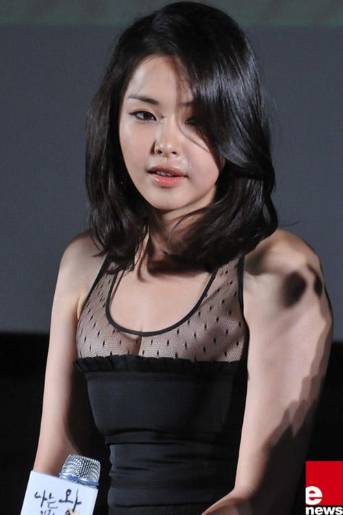 """Hoa hậu đẹp nhất xứ Hàn bị """"biến dạng"""" - 4"""