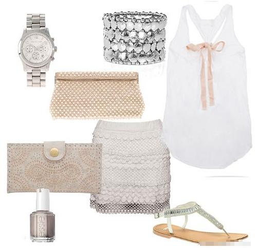 Đẹp tựa thiên thần với váy ren trắng - 11