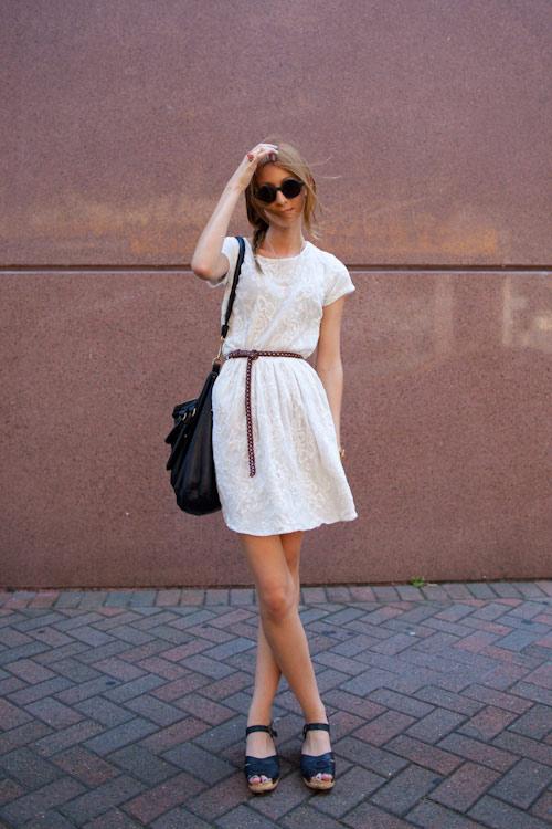 Đẹp tựa thiên thần với váy ren trắng - 4