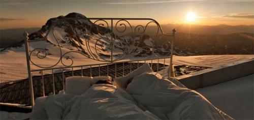 Rao bán nghỉ qua đêm trên đỉnh núi 3.000m - 1
