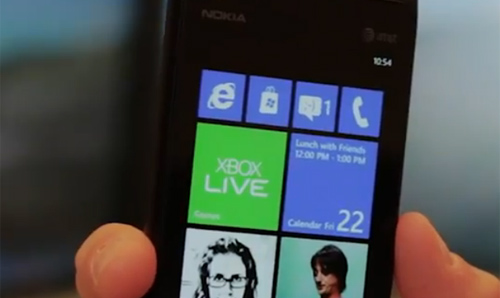 Video Windows Phone 7.8 chạy trên smartphone - 1