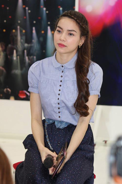 """Jennifer Phạm """"sến lạ"""" khi tết tóc - 9"""