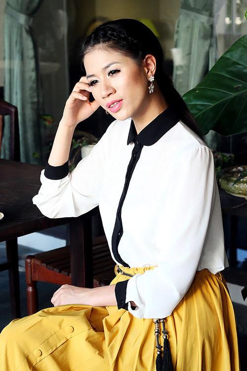 """Jennifer Phạm """"sến lạ"""" khi tết tóc - 14"""