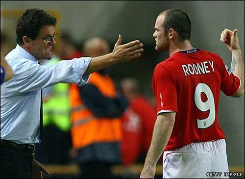 """Capello """"kháy"""" Rooney: """"Anh ta chỉ hiểu tiếng Scotland"""" - 1"""