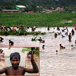 """Tin tức trong ngày - Ấn Độ: """"Mưa"""" tiền bất ngờ trút xuống đầm lầy"""