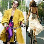 Thời trang - Khi chân dài yêu xe đạp hơn xế hộp!