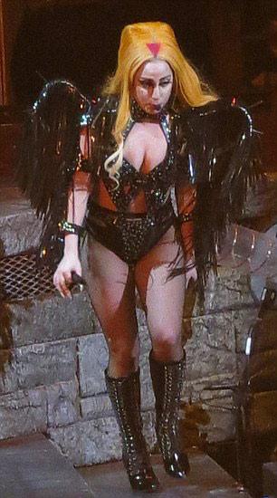 Lady Gaga gợi lại váy thịt bò sống - 7