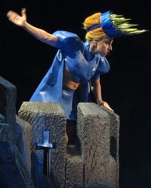 Lady Gaga gợi lại váy thịt bò sống - 9