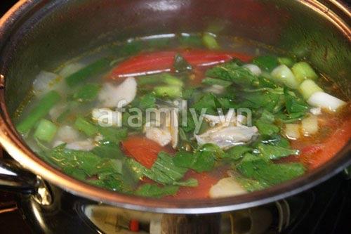 Hè nóng, ăn canh khế nấu nghêu mát lành - 9