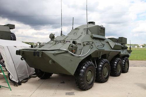 """Vũ khí """"khủng"""" tại Diễn đàn công nghệ quân sự - 15"""