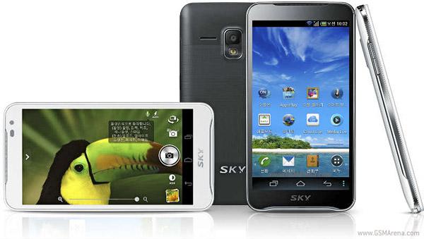 Sky A 830L đối thủ của SamSung Galaxy S3 - 1