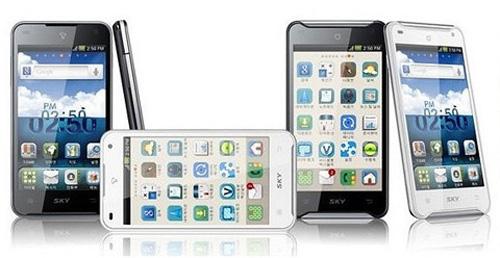 Sky A 830L đối thủ của SamSung Galaxy S3 - 2