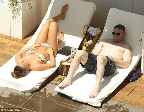 Vợ chồng Rooney du hý giải sầu Euro - 1
