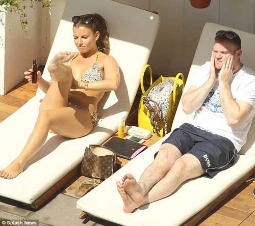Vợ chồng Rooney du hý giải sầu Euro - 3
