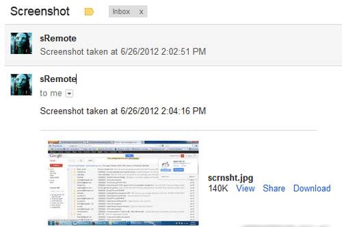 Điều khiển máy tính từ xa bằng… Gmail - 4