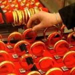 Tài chính - Bất động sản - Giá vàng kẹt mốc 41,7 triệu đ/lượng