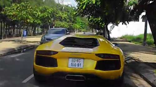 Siu xe mi ca Cng ' la' mang bin 80-NG?,  t - Xe my, Lamborghini Aventador cua Cuong Do la, sieu xe cua Cuong do la, Cuong do la, Lamborghini Aventador mau vang, Lamborghini Aventador bien khung, Lamborghini Aventador mang bien khung, sieu xe Lamborghini Aventador, gia Lamborghini Aventador, Lamborghini Aventador ve Viet Nam, Lamborghini Aventador LP700-4, Aventador LP700-4, sieu xe, gia Aventador LP700-4, Cars & Passion 2012,