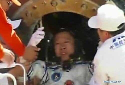 Cận cảnh tàu Thần Châu-9 trở về Trái Đất - 7