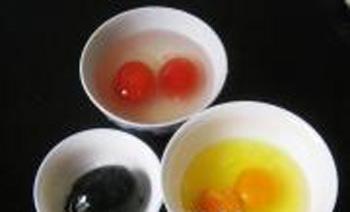 Trứng tam sắc hấp lạ miệng đẹp mắt - 2